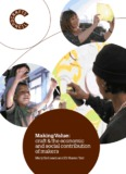 Making Value: craft & the economic and social - Crafts Council