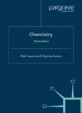 Chemistry, Third edition