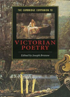 The Cambridge Companion to Victorian Poetry.pdf