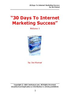 30 Days To Internet Marketing Success ( ebfinder.com ).pdf