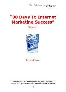 30 Days To Internet Marketing Success ( ebfinder.com ).pdf
