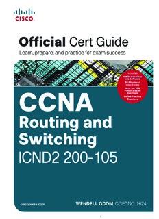 CCNA ICND2 200-105