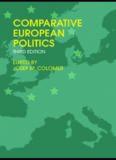 COMPARATIVE EUROPEAN POLITICS, Third edition