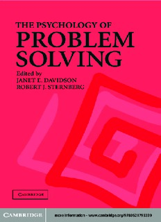 The Psychology of Problem Solving ( ebfinder.com ).pdf