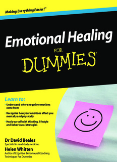 Emotional Healing for Dummies.