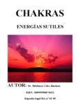 CHAKRAS  ENERGÍAS SUTILES
