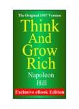 Napoleon Hill - Think and Grow Rich - Huna Hawaii Home Page