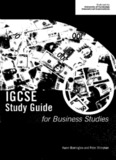 IGCSE Study Guide for Business Studies - WELCOME IGCSE