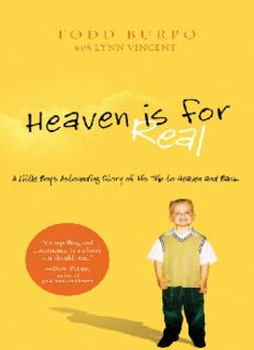 Heaven is for Real _ A Little Boy's Astounding Story of His Trip to Heaven and Back ( ebfinder.com ).pdf