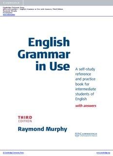 Cambridge Vocabulary In Use Intermediate Pdf