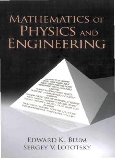 Mathematics of Physics and Engineering