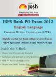IBPS Bank PO EXAM 2013 : English Language - guttitech.com