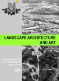 Landscape Architecture And Art