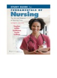Study Guide for Fundamentals of Nursing The Art and Science of Nursing Care