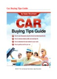 Car Buying Tips Guide 1
