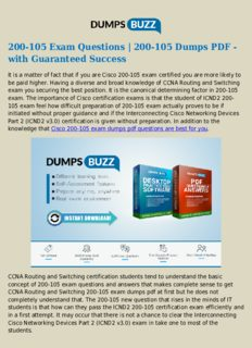 New and Valid 400-101 Exam Dumps - Pass 400-101 exam with New sample questions