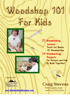 Woodshop 101 For Kids - Woodworkers Resource