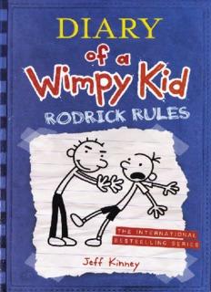 Rodrick Rules Book Pdf