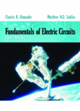 Fundamentals of Electric Circuits 4th ed – C. Alexander, M. Sadiku