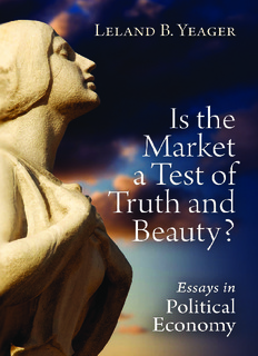 Is the Market a Test of Truth and Beauty?