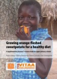 Growing sweet potatoes for a healthy diet. A pupil's book for primary agriculture