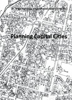 Planning Capital Cities