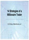 14 Strategies of a Millionaire Trader