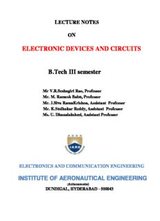 Electronic Devices Circuits Bakshi Ebook