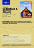 Thailand - Understand & Survival (Chapter) - Backpackers