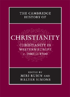 The Cambridge History Of Christianity, Vol. 4, Christianity In Western Europe 1100–1500 ( ebfinder.com ).pdf