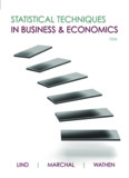 Statistical Techniques in Business and Economics – Lind, Douglas
