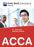 P3 Study Text Business Analysis ACCA - OpenTuition