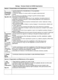 Biology - Revision Guide for IGCSE Examination