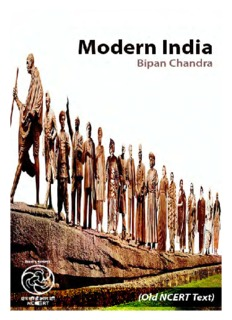 OLD NCERT ,Modern India (Bipan Chandra)