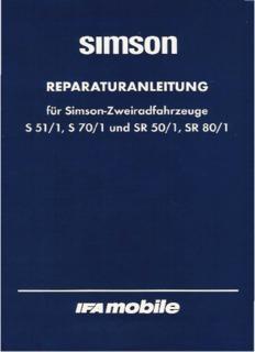 ddr-buch-simson-s51 - MZ / Simson