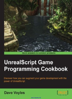 UnrealScript Game Programming Cookbook.pdf