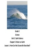 Grade 5 Science Unit C: Earth Science Chapter 5: Water on Earth