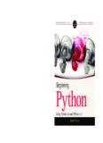Beginning Python - 7chan