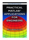 PRACTICAL MATLAB® FOR ENGINEERS PRACTICAL MATLAB