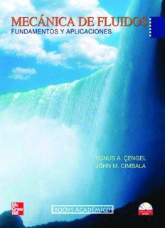 Mecanica de Fluidos Fundamentos y Aplicaciones - Yunus Cengel