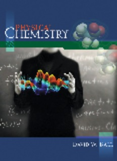 Physical Chemistry by David W. Ball