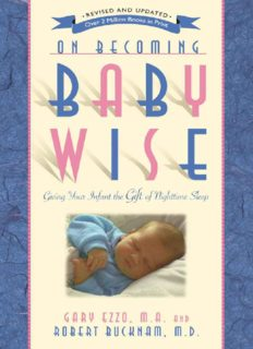 On Becoming Baby Wise_ Giving Your Infant the Gift of Nighttime Sleep ( ebfinder.com ).pdf
