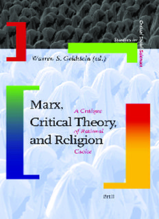 Marx, Critical Theory, And Religion A Critique Of Rational Choice.pdf