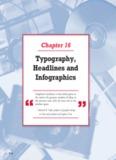 Typography, Headlines and Infographics