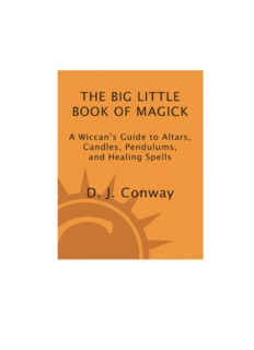 The-Big-Little-Book-of-Magick-A-Wiccans-Guide-to-Altars-Candles-Pendulums-and-Healing-Spells-Mantesh.pdf