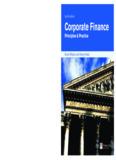 Corporate Finance Principles & Practice