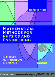 Riley, Hobson and Bence - Mathematical Methods for Physics and Engineering.pdf