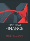 Corporate Finance by Berk DeMarzo