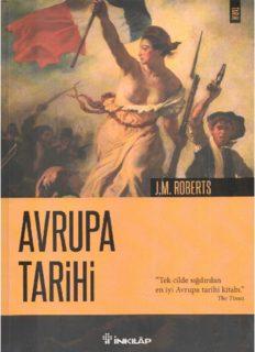Avrupa Tarihi - Tek cilde sığdırılan en iyi Avrupa tarihi kitabı