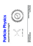 Complete lecture notes of spring 2002 - Particle Physics